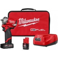 """M12 FUEL 3/8"""" Stubby Impact Wrench Kit"""