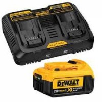 20-Volt Max Jobsite Charging Station with Battery Pack