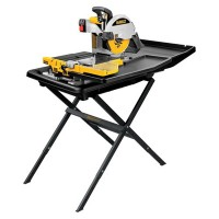 """10"""" Wet Tile Saw with Stand"""
