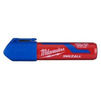 INKZALL Extra Large Chisel Tip Marker Blue