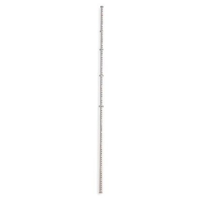 Aluminum 16-Foot Telescoping Rod in Feet, Inches, and Eighths