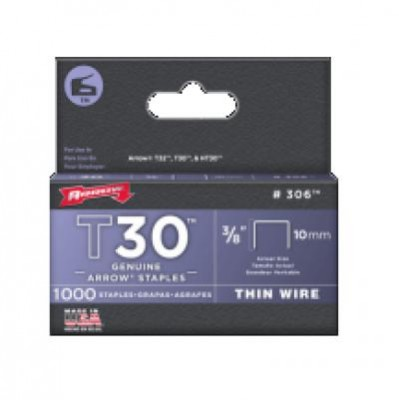 "3/8"" (10mm) Staples (1,000)"
