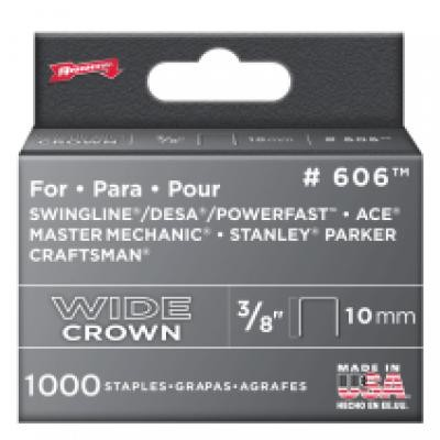 "3/8"" Swingline Staples800 (1,000)"