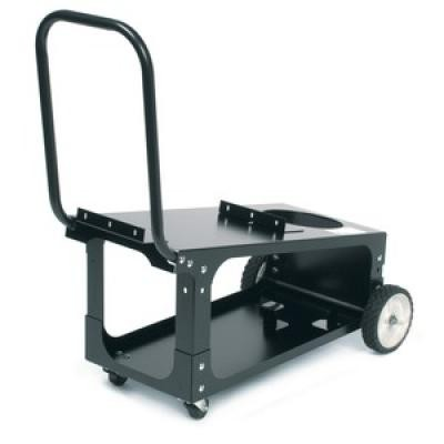 Wire Feeder Welding Cart (80 cu.ft bottle capacity)