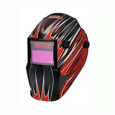 Fierce Red Auto Darkening Welding Helmet - Variable 9-13