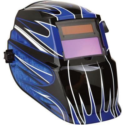 Fierce Blue Auto Darkening Welding Helmet - Variable 9-13