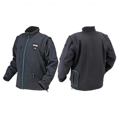 14.4V-18V Cordless Black Heated Jacket (3X-Large)