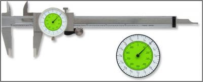 "6"" Stainless Steel Fractional Dial Caliper"