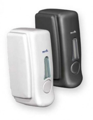 Nettuno T-Small White Wall Dispenser - For Soap Pouch -