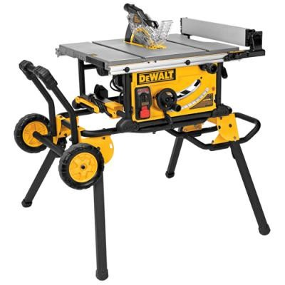 10 in. Jobsite Table Saw w/ Guard Detect and Rolling Stand