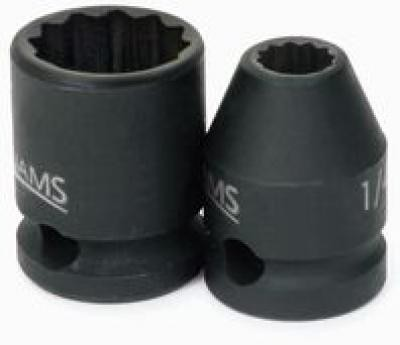3/8 Drive 1 Standard Impact Socket 12 Point