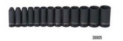 Impact Socket Set 3/8 Drive 13 Piece Deep