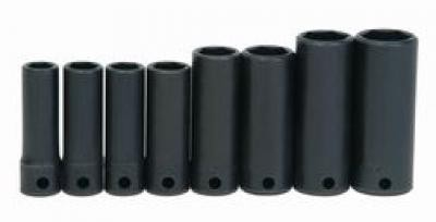 "3/8"" Drive Deep Impact Socket Set 8 Pcs"