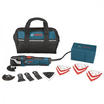 Oscillating Tool (3.0 Amp) w/ Bag & 21 Accessories
