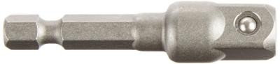 3/8-Inch Extension Male Square Power Drive, 1/4-Inch Hex, 2-InchPin Lock