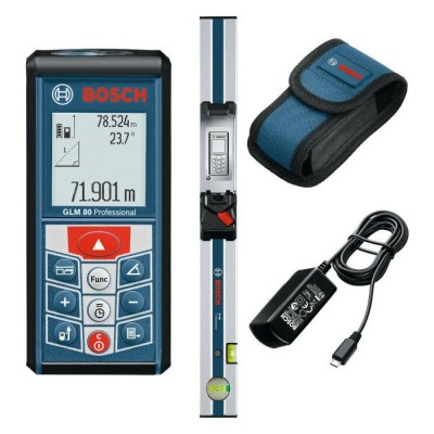 Laser Measure w/ Li-Ion & Inclinometer 265' +R 60 Level