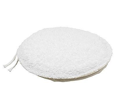 7-Inch Terry Cloth Foam Reversible Applicator Bonnet
