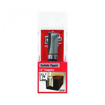 1/2-by-1-Inch Straight Router Bit, 1/2-Inch Top Ball Bearing 1/4-Inch Shank