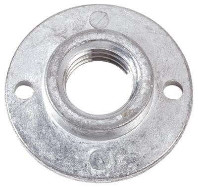 "Angle Grinder Pad Nut 1/2"" x 13"" Thread"