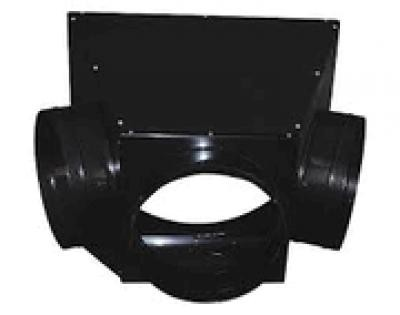 "3-Way Duct Adapter 12""x12""X12"""