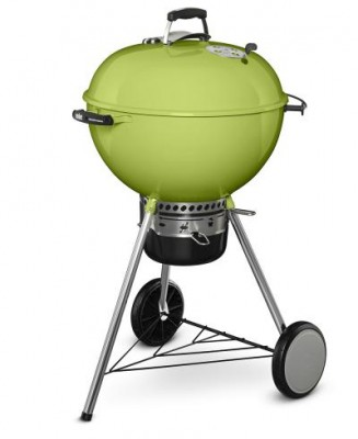 "MASTER-TOUCH® 22"" Charcoal Grill - Spring Green"
