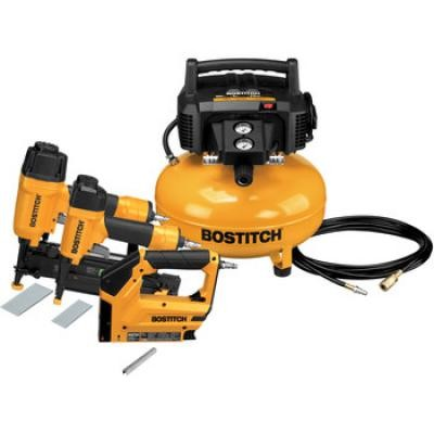 3-Piece Nailer and Compressor Combo Kit