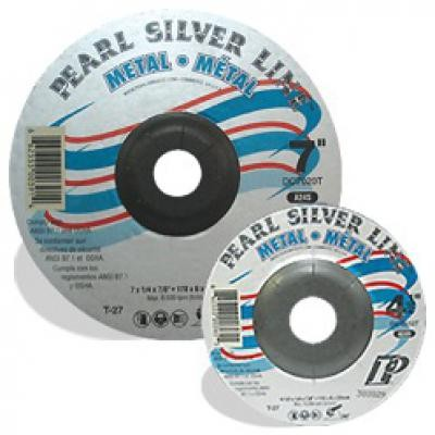 4-1/2 x 1/4 x 7/8 Silver Line™ AO Depressed Center Wheel