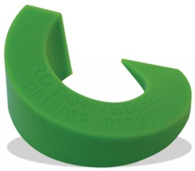1/16 - 7/8 Roto-Wedge™ Spacer, Green/Large