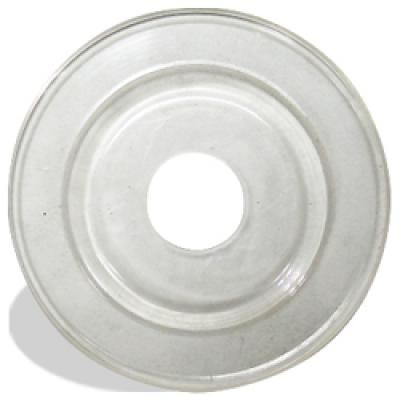 "3-3/8 Plastic Backup Pad for 4-1/2"" & 5"" Wheels"
