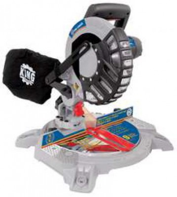 "8 1/4"" Compound Miter Saw with Laser"