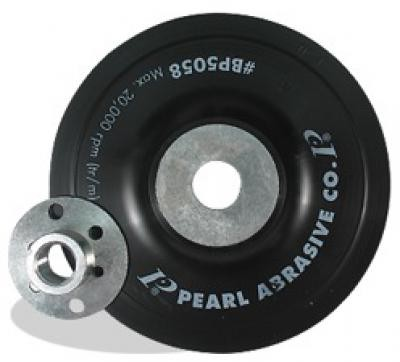 4-1/2 x 5/8-11 Backup Pad for Fiber Discs, Smooth-Faced