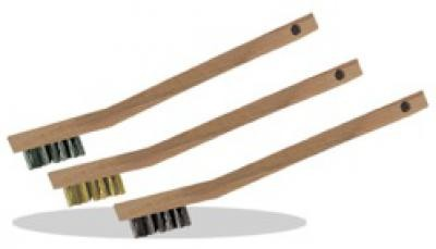 3 X 7 Cleaning Wire Brush, Brass
