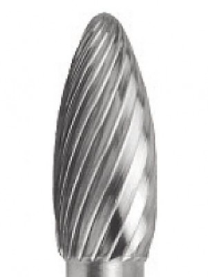 3/8 x 3/4 x 1/4 Carbide Bur, Aluminum Cut, SF3-AL Type