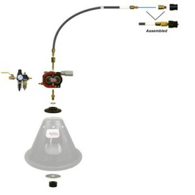 """WIRE FEED ASSIST KIT - 1/16"""" (1.6MM) & LARGER ALUMINUM WIRE"""