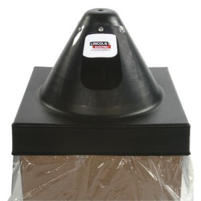 "SQUARE HOOD (CHIMELESS) - 24"" (610MM), 1000 LB"