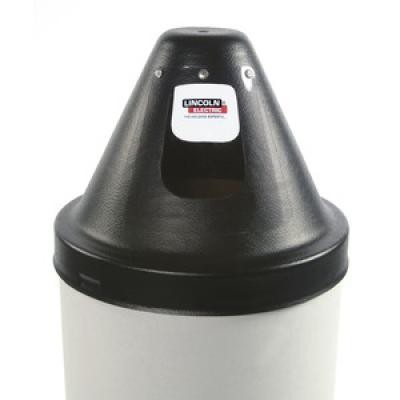 "ROUND DRUM HOOD (CHIMELESS) W/DIRECT PULL KIT - 23"" (584MM)"