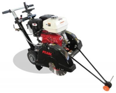 "18"" Pearl® Gas Powered Premium Concrete Saw with Honda GX390 Cyclone"