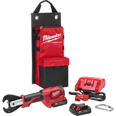 "M18™ FORCE LOGIC™ 6T Utility Crimper Kit with D3 Groves ""Snub Nose"""