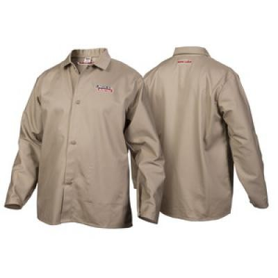 TRADITIONAL KHAKI FR CLOTH WELDING JACKET - M