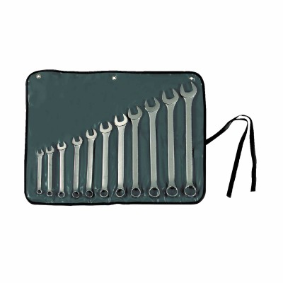STANLEY® 11 PIECE SATIN FINISH FRACTIONAL COMBINATION WRENCH SET – 12 POINT