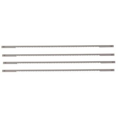 4 pk 6-1/2 in x 10 TPI Coping Saw Blades