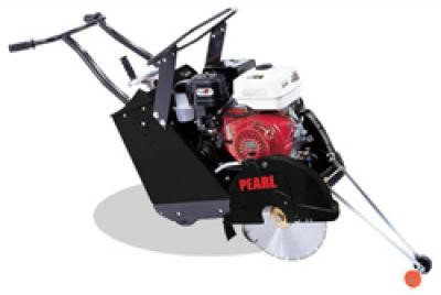 "20"" Pearl® Gas Powered Self-Propelled Concrete Saw with 13HP Subaru Engine"