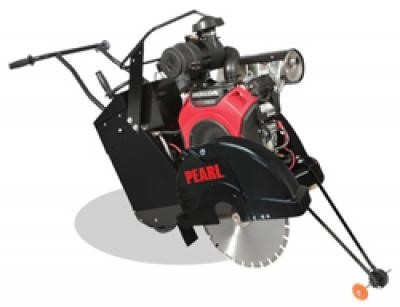 "20"" Gas Powered Self-Propelled Concrete Saw with 22HP Subaru Engine"