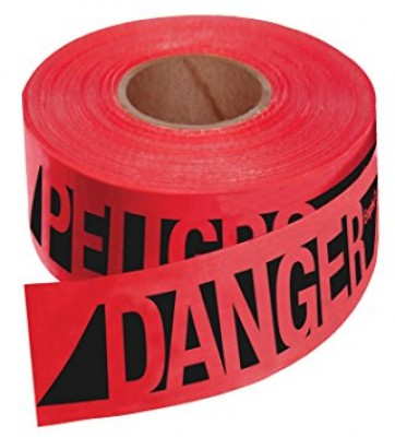 1000' x 3'' CAUTION DO NOT ENTER  BARRICADE TAPE