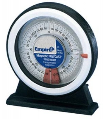 MAGNETIC POLYCAST® PROTRACTOR