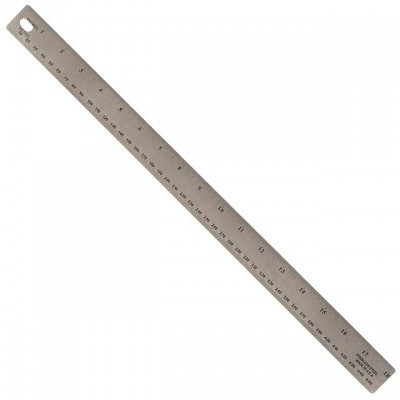 36'' x 1-1/8'' Aluminum Straight Edge