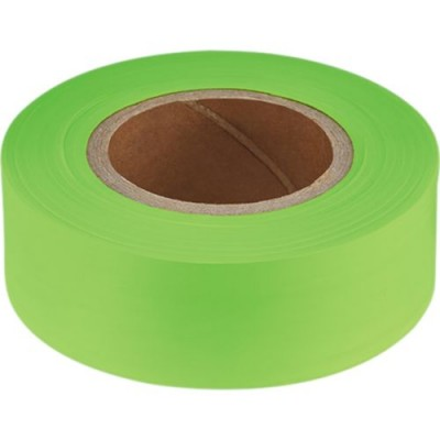 "200"" Lime Green Flagging Tape"