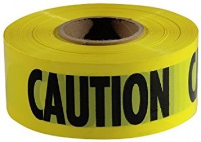 200' x 3'' CAUTION CUIDADO BARRICADE TAPE