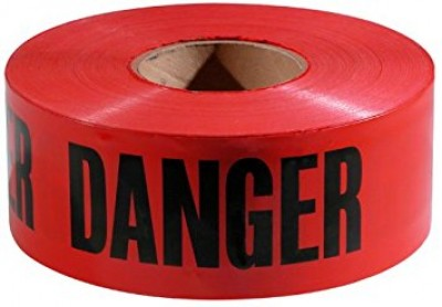 200' x 3'' DANGER PELIGRO BARRICADE TAPE