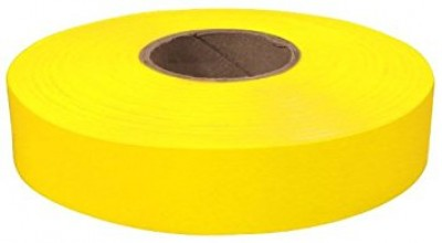 "600"" x 1"" Yellow Flagging Tape"